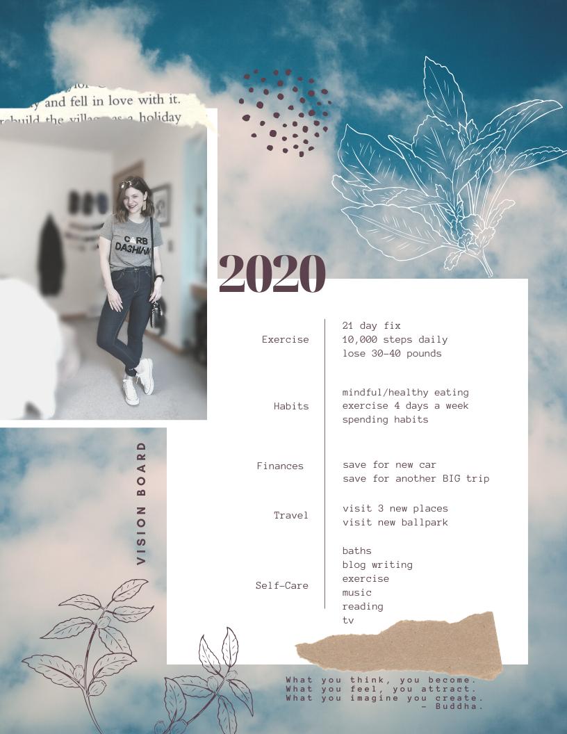 2020 – Vision Board